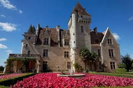 flowery milandes castle in the dordogne