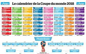 2018 football world cup calendar on 4 star campsite in Dordogne