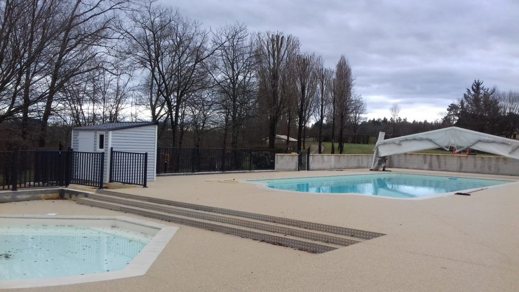 Modern Family Camping Pools In Black Perigord