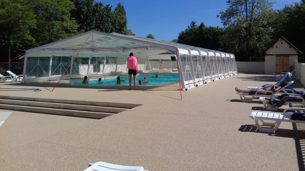 New Swimming Pool On Family Campsite In Dordogne