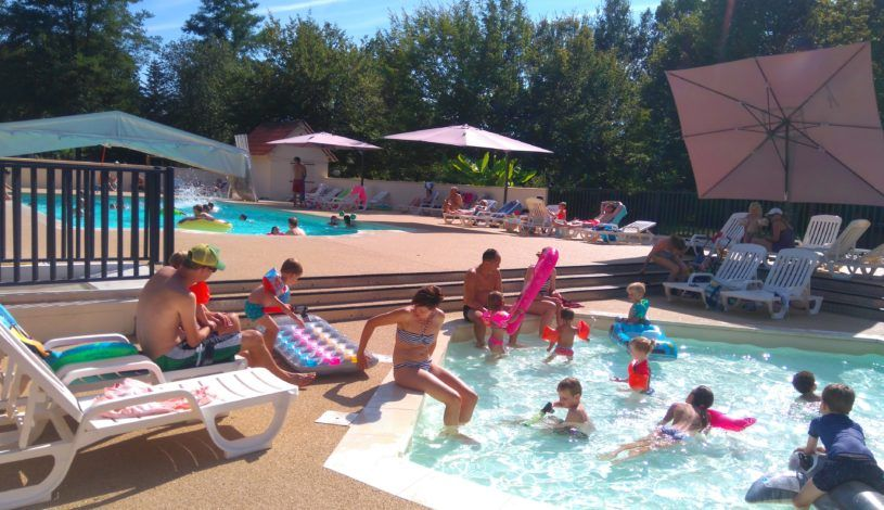 Camping Dordogne with aquatic area for the whole family