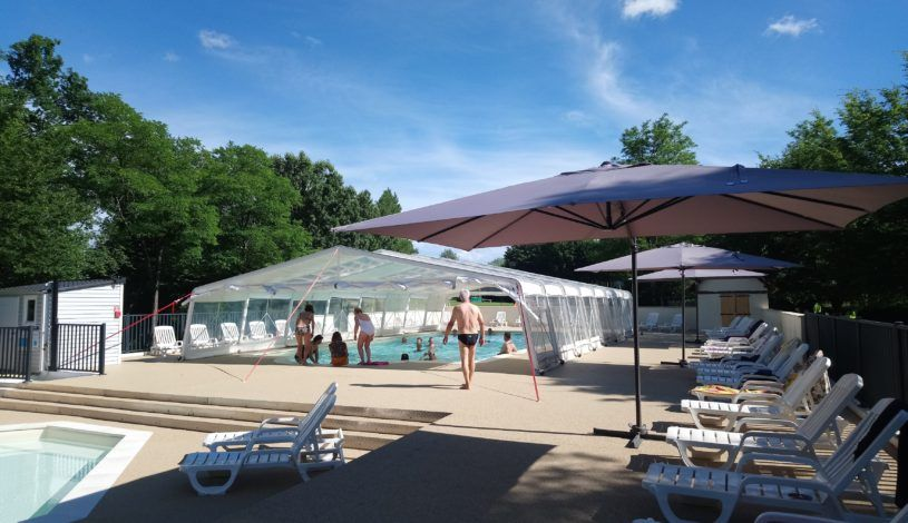 camping sarlat with swimming pool