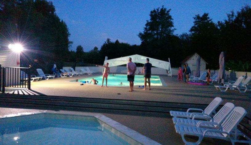 Camping Perigord Noir with swimming pool