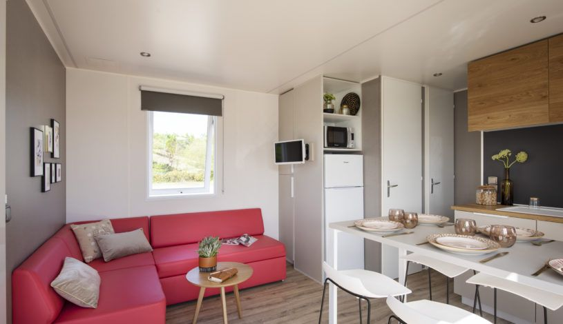 rental 7 people in campsite 4 stars with pool in Dordogne